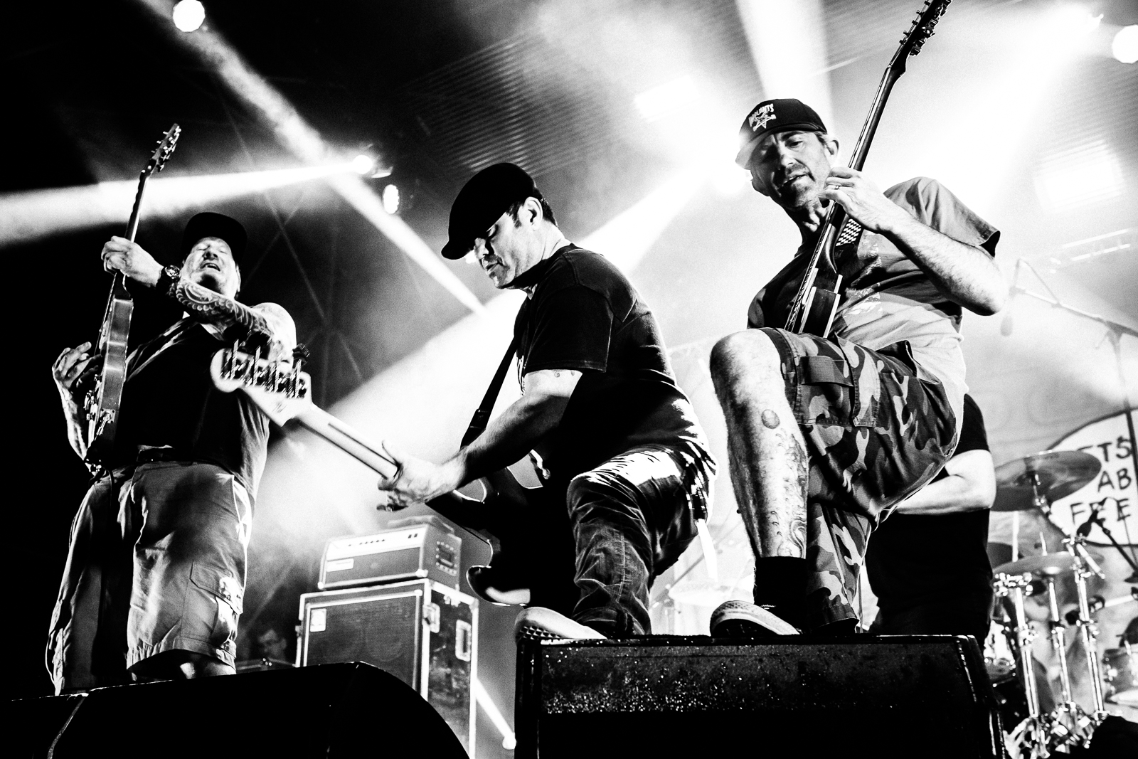 Lagwagon, Concert, b&w, Picture On, Festival